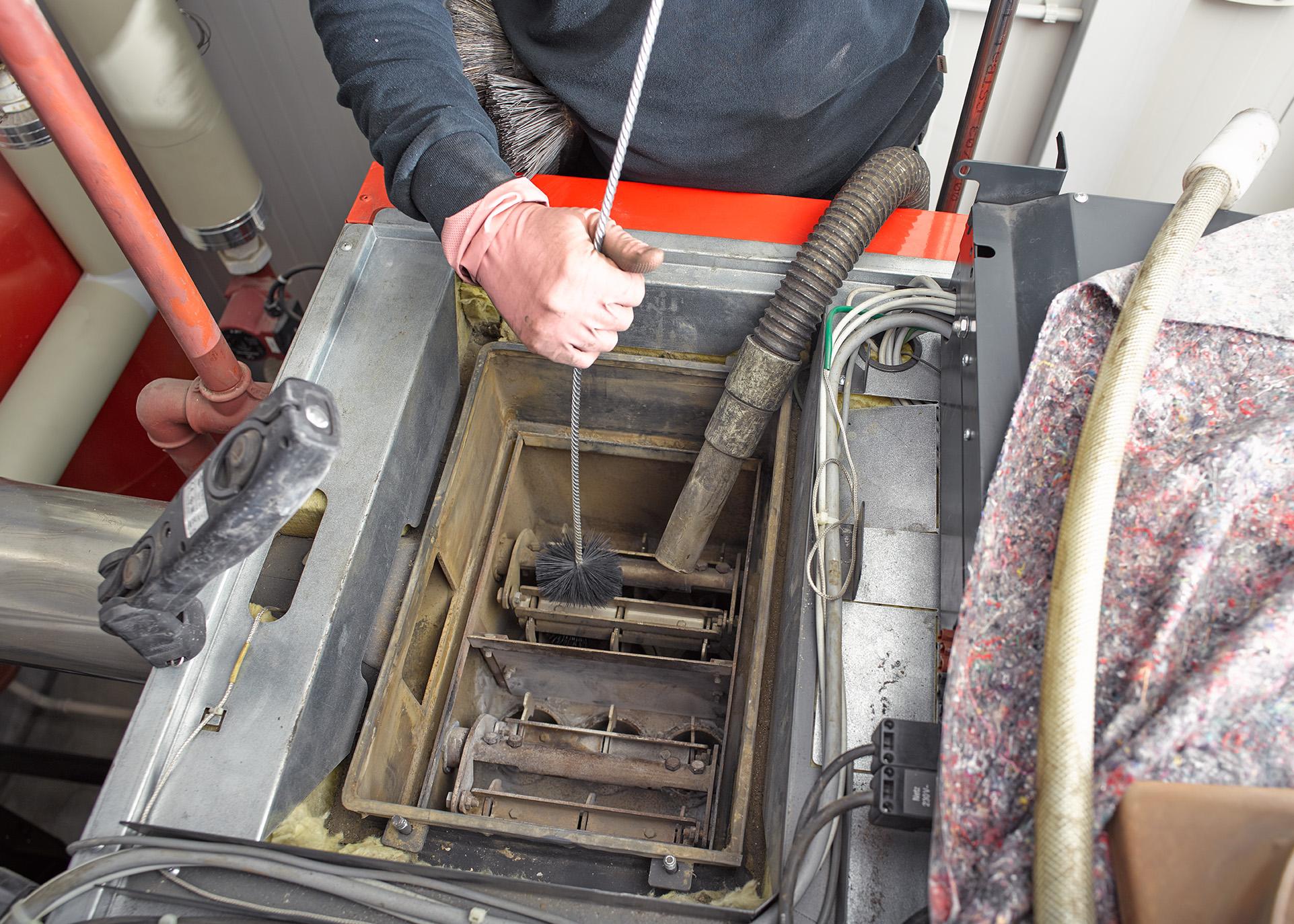 Reinigung Gasfeuerungen